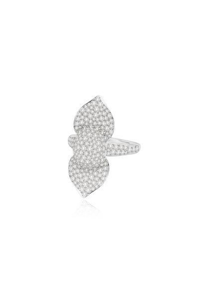 Sutra - 18K White Gold Diamond Ring