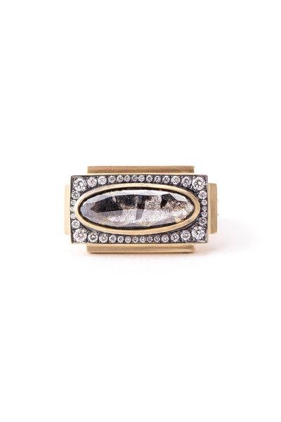 Sylva & Cie - 18K Yellow Gold Renee Collection Diamond Ring