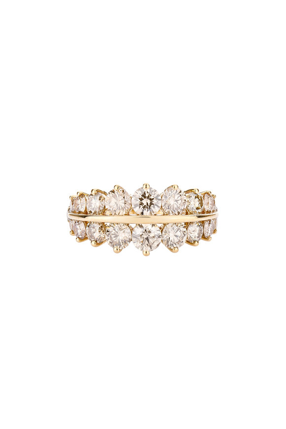 Etho Maria 18K Yellow Gold Diamond Band