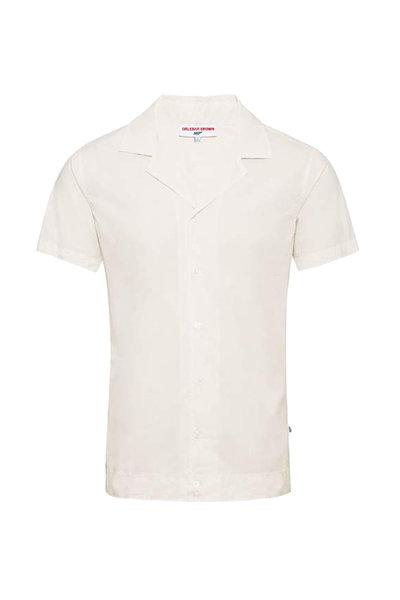 Orlebar Brown - Golden Gun Ivory Short Sleeve Shirt