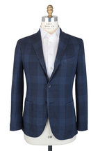 Boglioli - Blue Plaid Wool SPortcoat