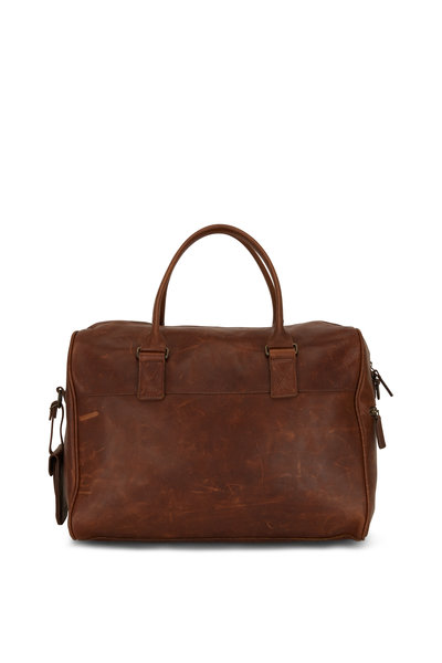 Moore & Giles - Booker Brown Leather Cabin Duffel