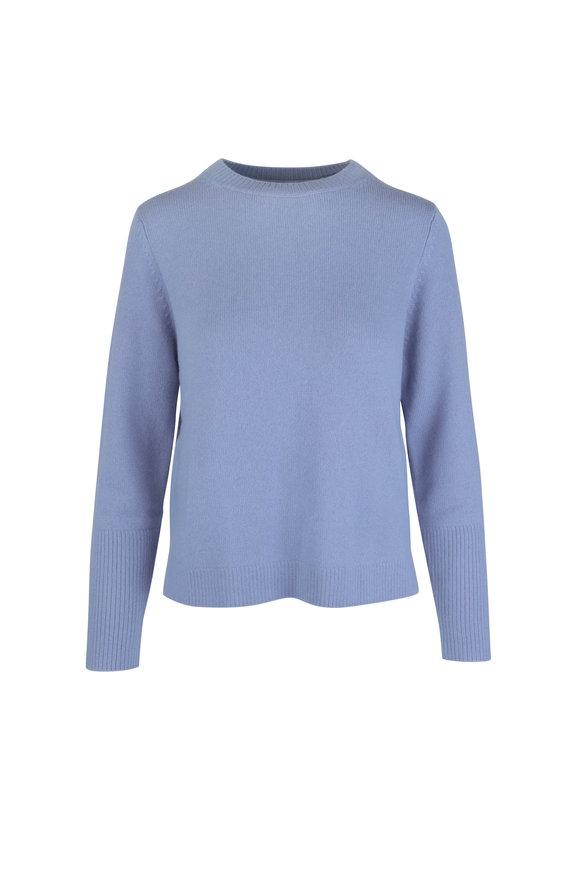 Chinti & Parker Sky Blue Cashmere Boxy Sweater