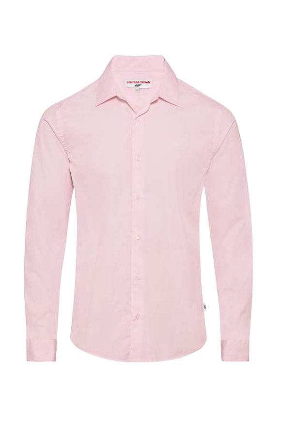 Orlebar Brown You Only Live Twice Pink Sport Shirt