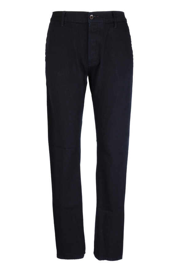 Raleigh Denim Martin Anchor Blue Five Pocket Jean