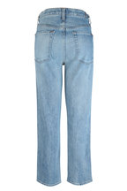 7 For All Mankind - Retro Ventura Blvd High-Rise Straight Crop Jean