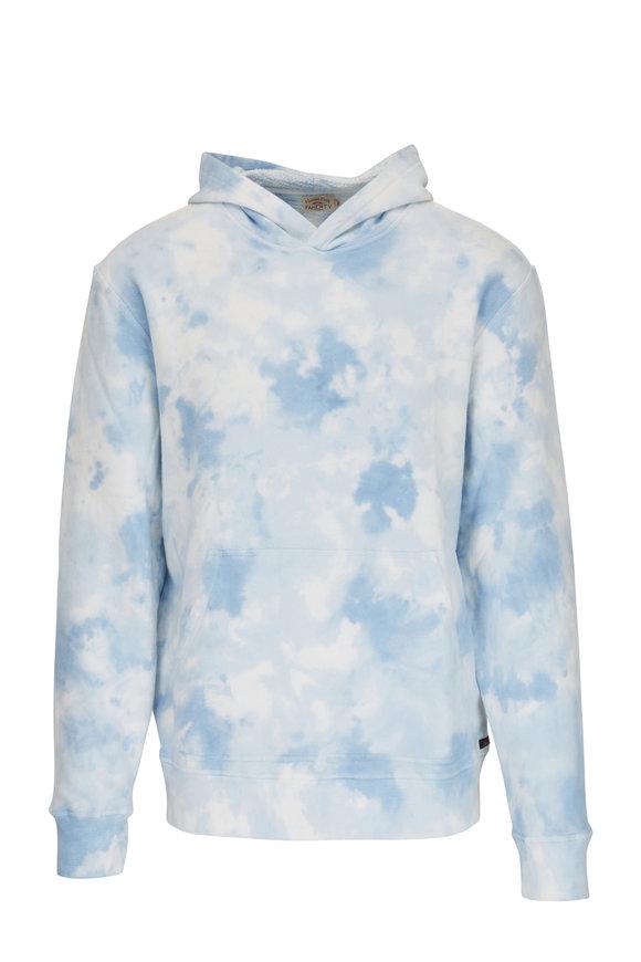Faherty Brand Pacific Mist Tie Dye Hoodie