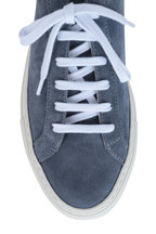 WOMAN by COMMON PROJECTS - Achilles Blue Suede Low-Top Sneaker
