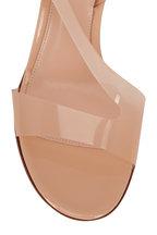 Gianvito Rossi - Nude PVC Sling Sandal, 70mm