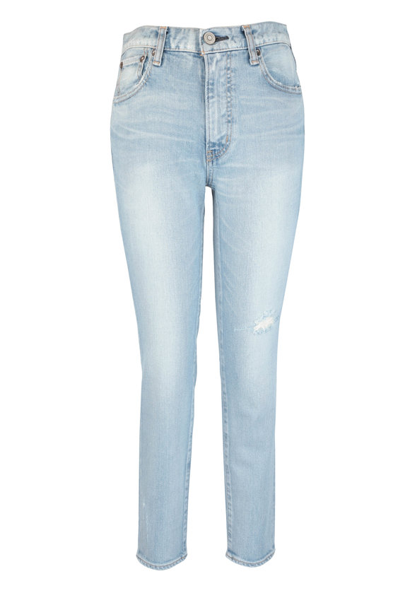 Moussy Hillrose Light Blue Skinny Jean