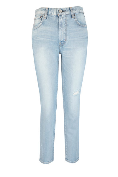 Moussy - Hillrose Light Blue Skinny Jean