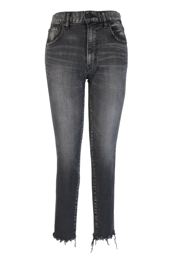 Moussy Westcliffe Light Black Skinny High Waisted Jean