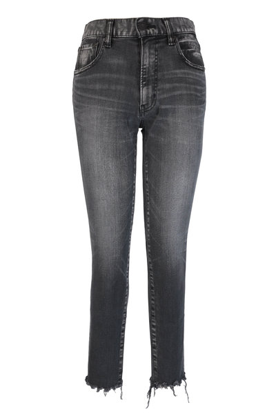 Moussy - Westcliffe Light Black Skinny High Waisted Jean