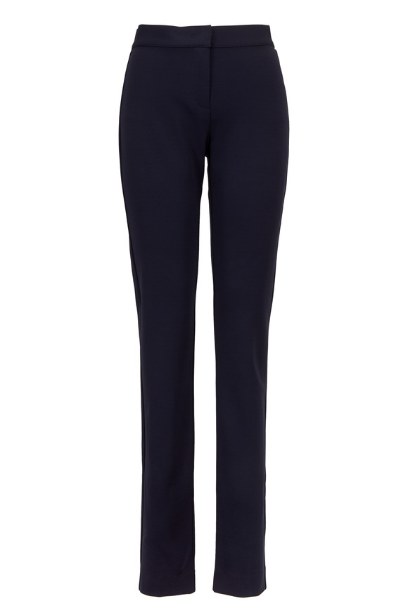 Derek Lam Hanne Navy Blue Jersey Leggings