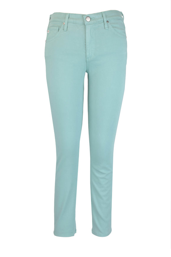 AG The Prima Seafoam Cigarette Crop Jean