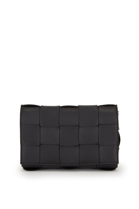 Bottega Veneta Cassette Black Quilted Leather Small Bag