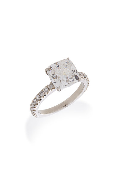 Louis Newman - White Gold Diamond Ring