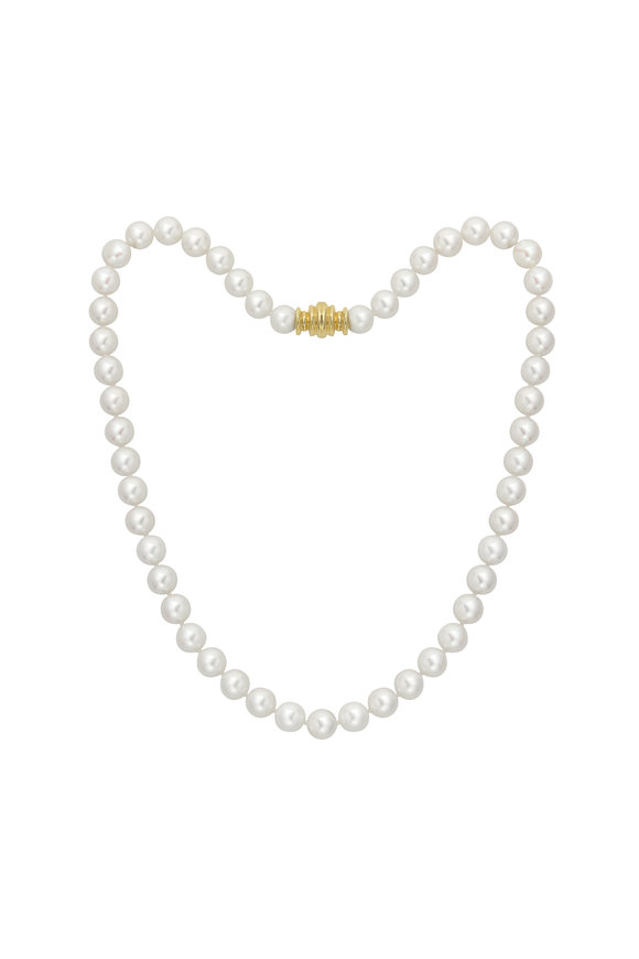 Assael 18KY Akoya Pearl Strand Necklace