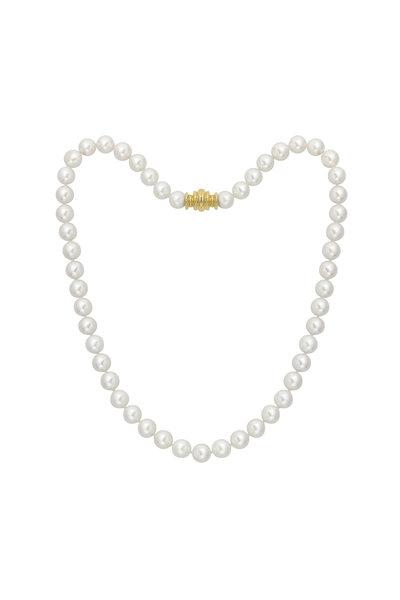 Assael - 18KY Akoya Pearl Strand Necklace