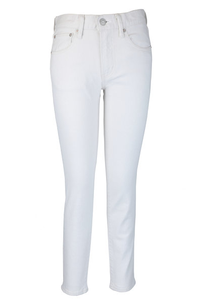 Moussy - Marietta White Five Pocket Skinny Jean