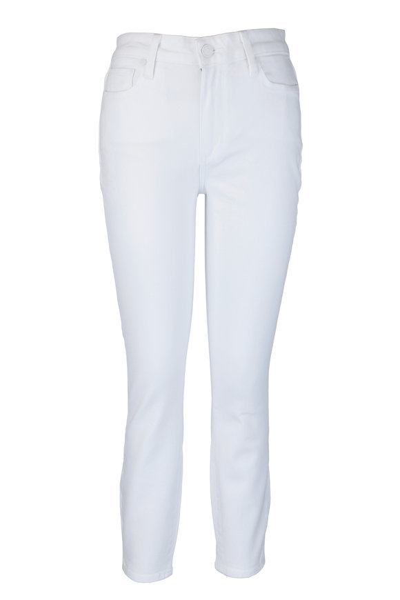 PAIGE Hoxton White High-Rise Ultra Skinny Jean