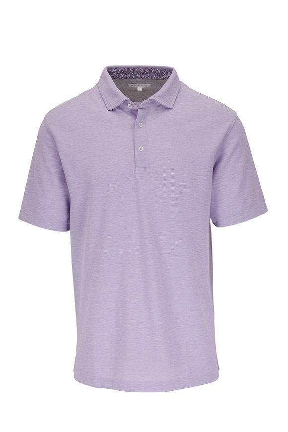 Vastrm Purple Piqué Sport Fit Polo