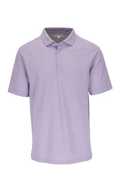 Vastrm - Purple Piqué Sport Fit Polo