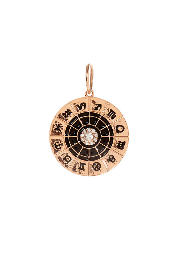 Kai Linz 14K Rose Gold Zodiac Signs Charm
