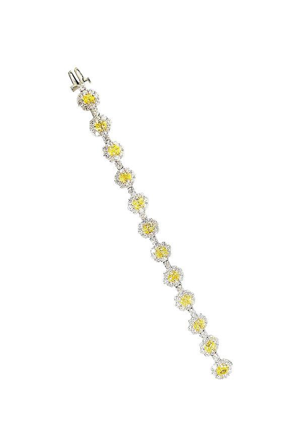 Bayco Platinum Diamond Bracelet