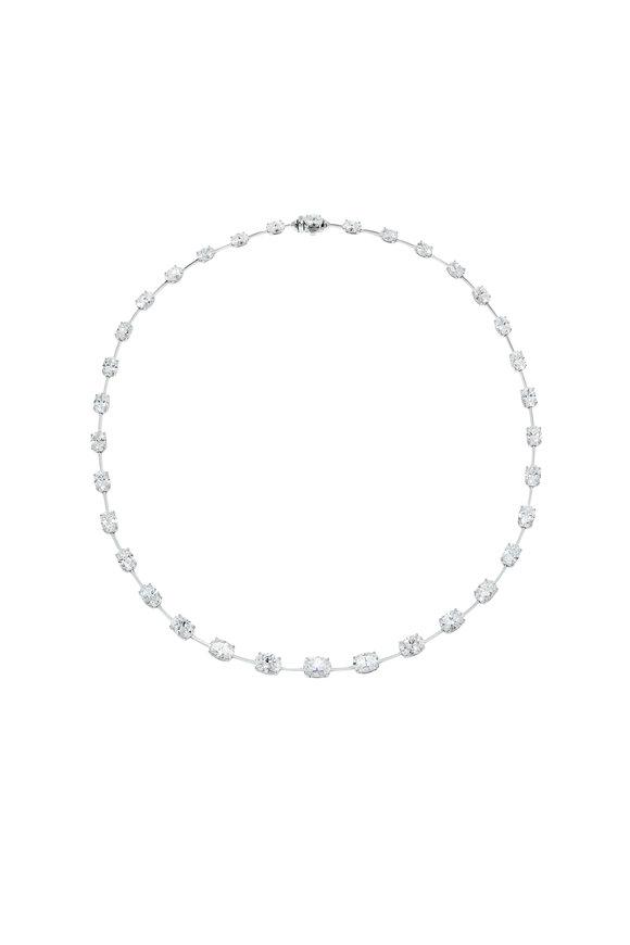 Etho Maria 18K White Gold Diamond Necklace