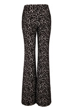 Michael Kors Collection - Brooke Black Bonded Lace Flare Pant
