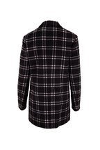 Michael Kors Collection - Ivory & Black Double-Faced Wool Boyfriend Blazer