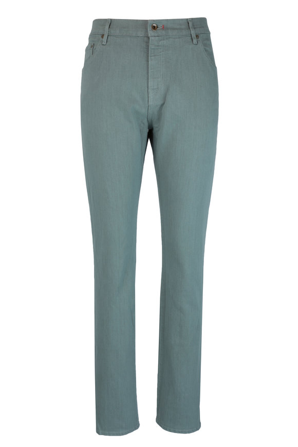 Raleigh Denim Martin Eucalyptus Stretch Cotton Five Pocket Jean