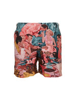 Orlebar Brown - Bulldog Photoraphic Sunshine Diners Swim Trunks