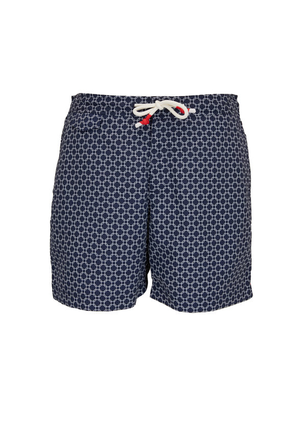 Orlebar Brown Standard Dania Navy Swim Trunks