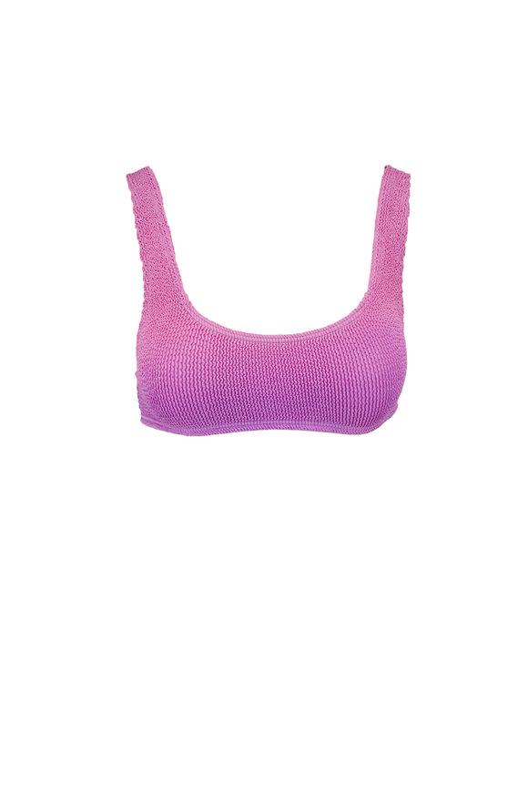 Bond Eye Australia The Malibu Purple Blossom Bikini Set