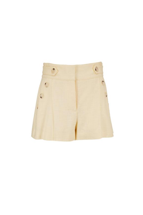 Veronica Beard Buttercup Pine Shorts