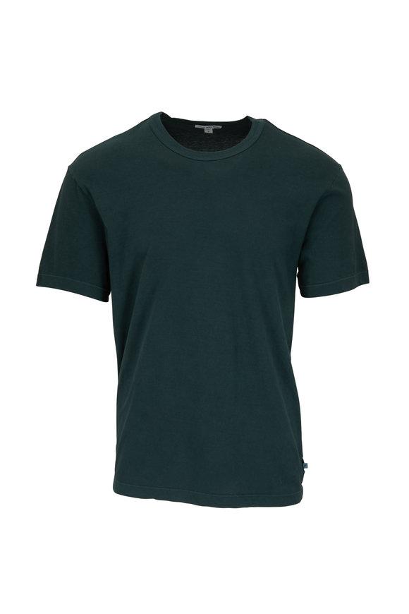 James Perse Canopy Green Short Sleeve T-Shirt