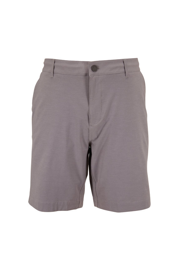 Faherty Brand Belt Loop All Day Ice Gray Shorts