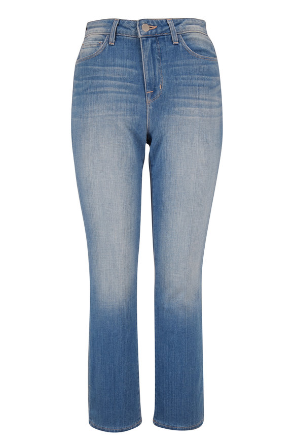 L'Agence Nadia High Rise Straight Cropped Jean