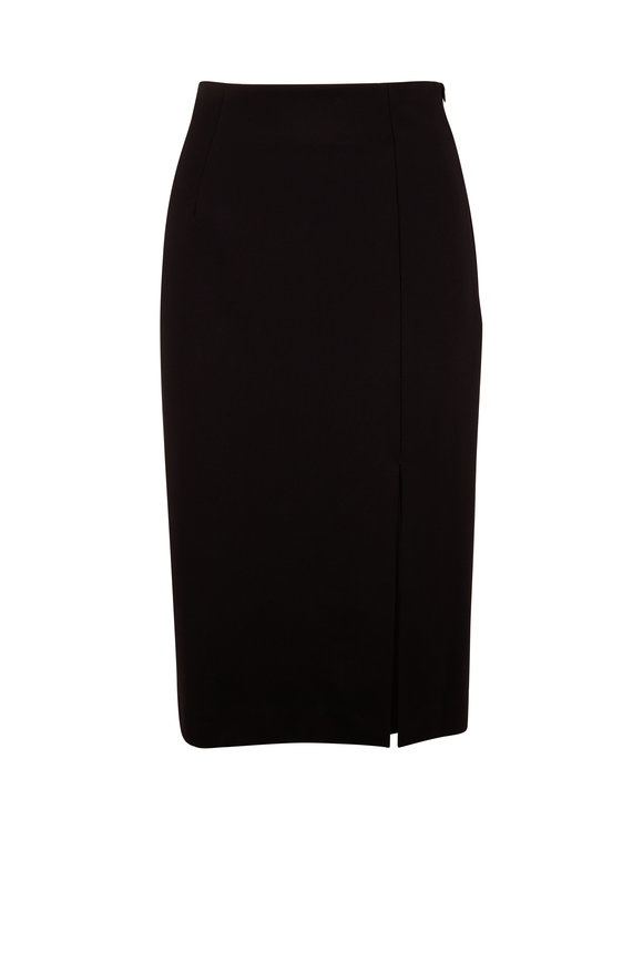 Dorothee Schumacher Emotional Essence Black Midi Skirt