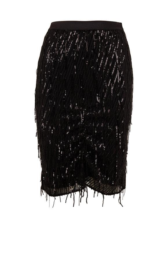 Dorothee Schumacher Dazzling Shimmer Black Skirt
