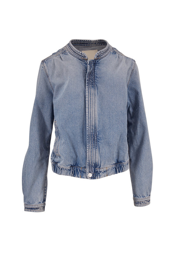 Mother Denim Quad Bomber Jacket