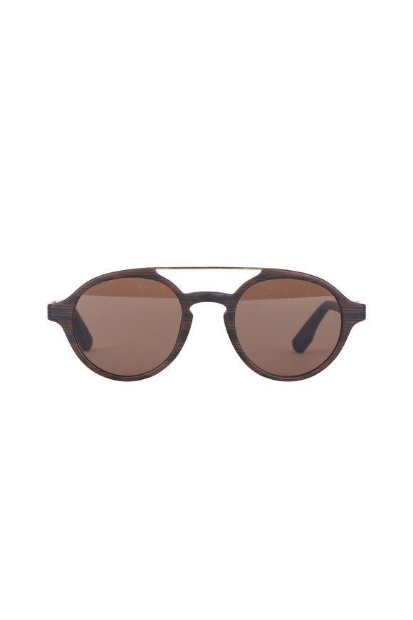 Kiton KT504S Sole Dark Brown Sunglasses