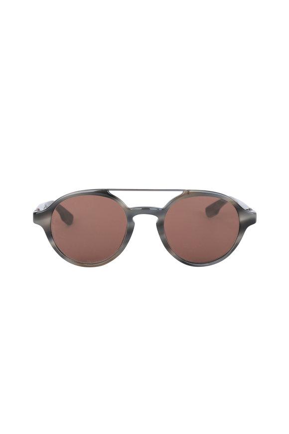 Kiton KT504S Sole Grey Tortoise Brown Lens Sunglasses
