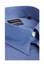 Ermenegildo Zegna - Navy Blue Birdseye Sport Shirt