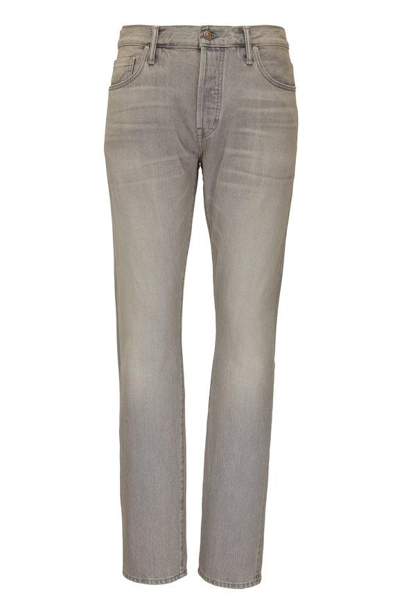 Tom Ford Light Gray Slim Fit Jean