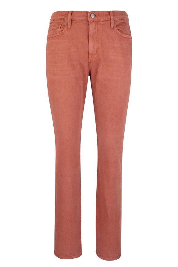 Frame L'Homme Sumac Slim Fit Mid-Rise Jean