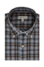 Peter Millar - Phillip Gray Plaid Sport Shirt
