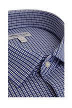 Peter Millar - Reed Blue Check Performance Sport Shirt